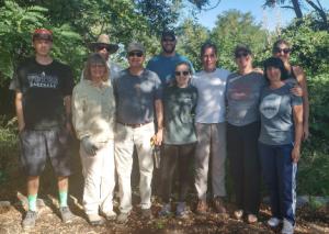 Habitat volunteers